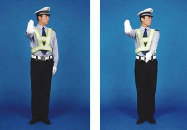 """c1交通警察手势_交警手势信号""""左转弯""""与""""左转弯待转""""手势信号有哪些区别 ..."""